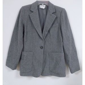Chadwick's Wool Blend Single Button Blazer (6)